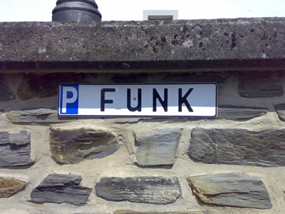 awesome car park sign